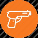 army, gun, handgun, pistol