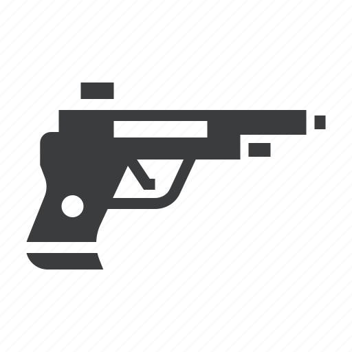 ammuniton, crime, gun, pistol, police, shoot, weapon icon