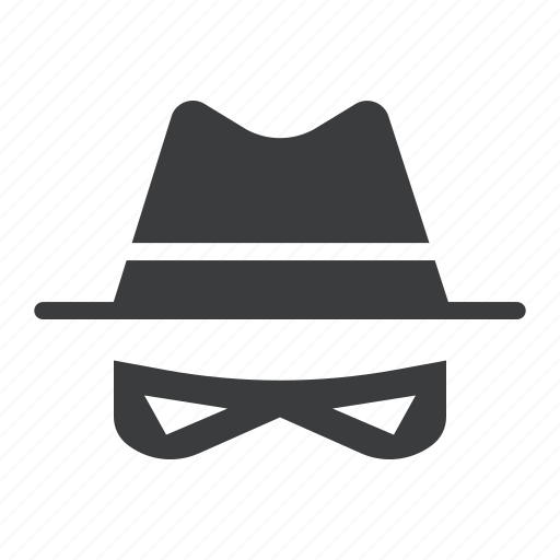 burglar, crime, disguise, gangster, hat, robber, thief icon