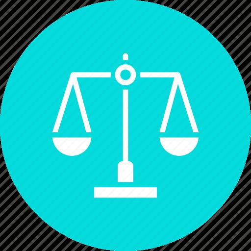 balance, court, judicial, jurisprudence, justice, law, legal icon