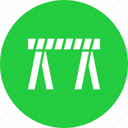 barricade, barrier, crime, road, safety, security, traffic icon