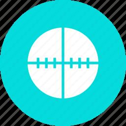aim, crosshair, focus, gun, shoot, target icon