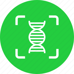 crime, dna, forensic, helix, investigate, scan, test icon