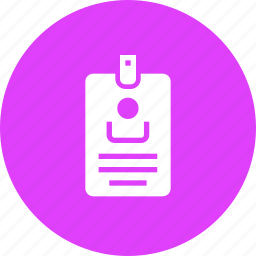 access, card, id, photo, proof, security icon