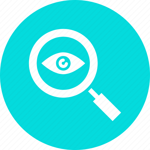 big brother, detective, eye, magnifying, search, spy, view icon
