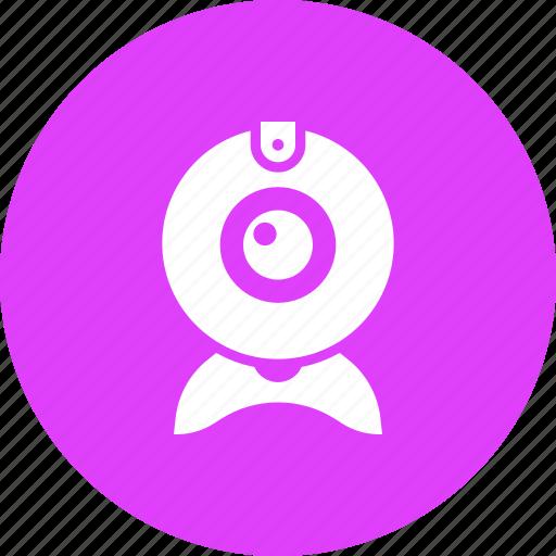 camera, device, security, spy, surveillance, webcam icon