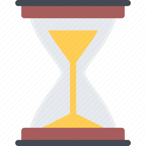 court, crime, criminal, hourglass, law, police icon