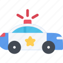 car, court, crime, criminal, law, police icon