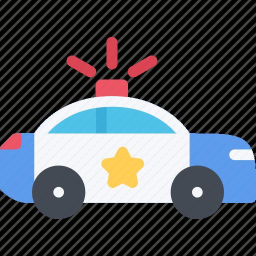 car, court, crime, criminal, law, police icon