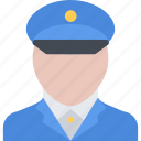 court, crime, criminal, law, police, policeman icon