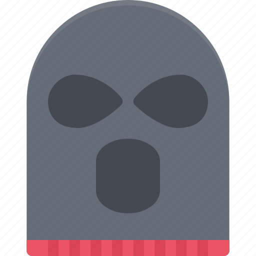 court, crime, criminal, law, mask, police, robber icon