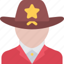 court, crime, criminal, law, police, sheriff icon