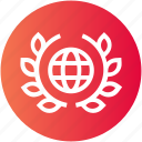 award, badge, justice, police, world icon