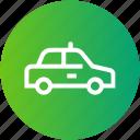 car, cop, justice, police, security icon