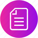 agreement, document, file, justice, legal, paper icon