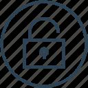 open, padlock, secure, unlock