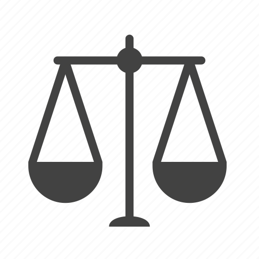 balance, justice, law, lawyer, legal, scale icon