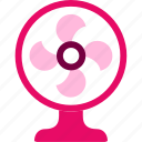 fan, furniture, home, house, interior, summer icon