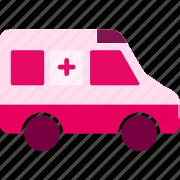 ambulance, emergency, health, healthcare, hospital, medical icon