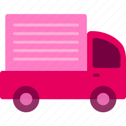 business, commerce, package, shipping, shopping, truck icon