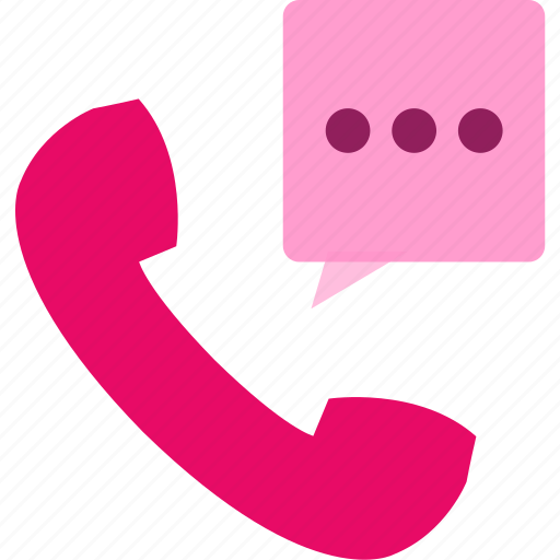 commerce, phone, service, shopping, speech bubble, telephone icon
