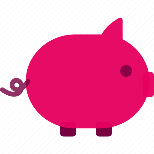 cash, coin bank, commerce, money, piggy-bank, shopping icon
