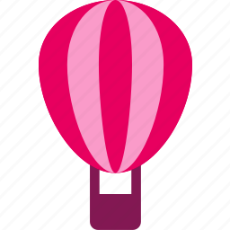 balloon, hot-air balloon, journey, layer, travel, trip icon