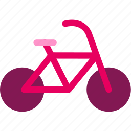 bicycle, journey, traffic, travel, trekking, trip icon
