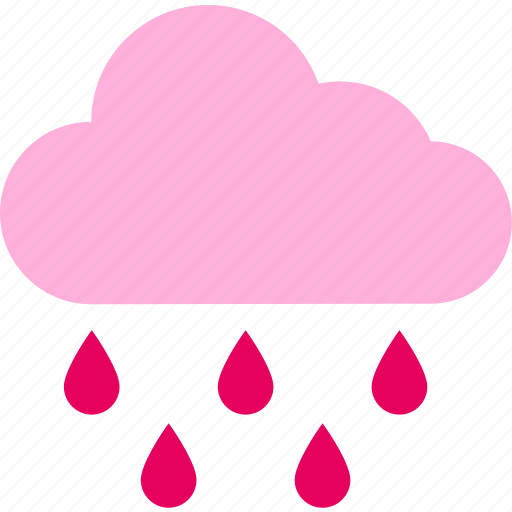 cloud, forecast, rain, raining, temperature, weather icon