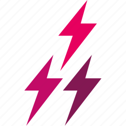 forecast, lightning, temperature, thunderbolt, weather icon