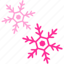 forecast, snow, temperature, weather, winter icon