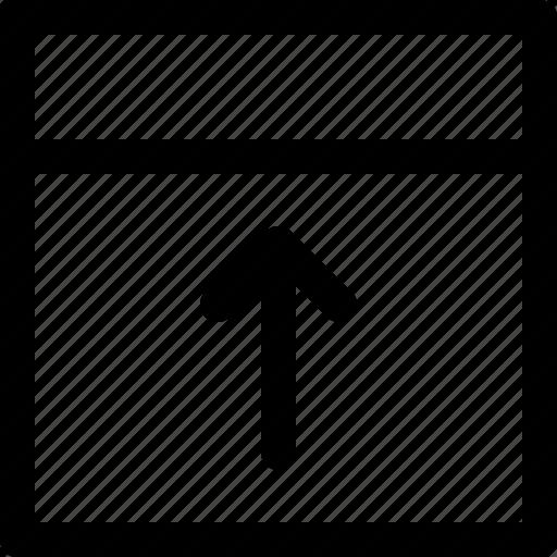 arange, grid, interface, layout, page, web icon