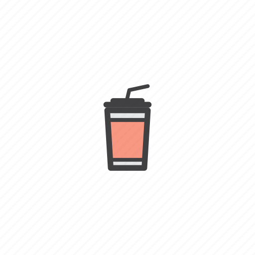 bottle, coffee, drink, ice, water icon