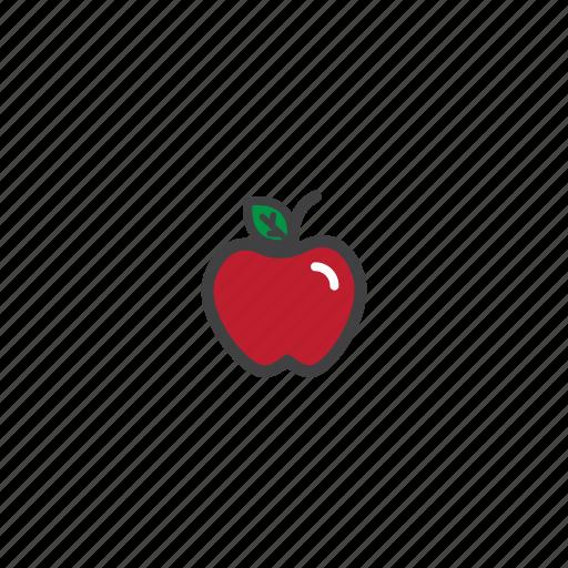 apple, fruit, healt, nature icon