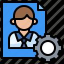 application, business, curriculum, interface, settings, vitae