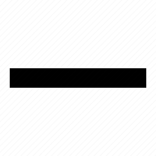 collapse, less, line, minus, negative, reduce, remove icon