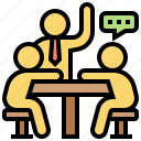 job, learning, professional, skill, training icon