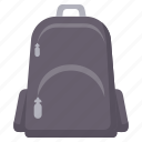 bag, baggage, education, learning, school, student, study icon
