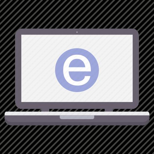 browser, internet, laptop, mobile, seo, web icon