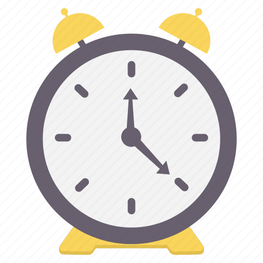 alarm, alert, bell, notification, ring, time, warning icon