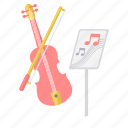 class, classroom, media, multimedia, music icon