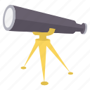 binocular, binoculars, explore, find, search, spyglass, view icon