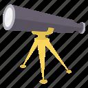 binocular, binoculars, explore, find, search, spyglass, view