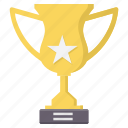 achievement, award, prize, star, trophy, winner icon