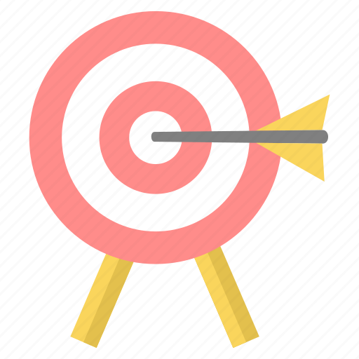 achievement, aim, bullseye, goal, success, target icon