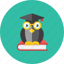book, owl icon