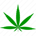 flora, foliage, hemp, leaf, leaves, nature, plant icon