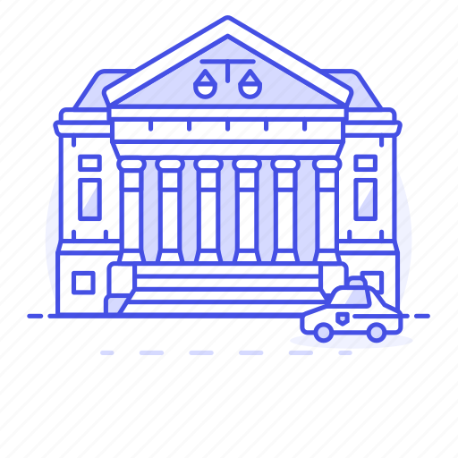 2, building, case, court, courthouse, courtroom, house, justice, law, legal, of, palace, trial icon
