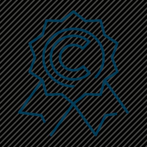 business, copyright, logo, seo, trademark icon