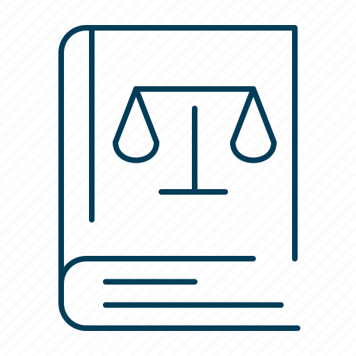 book, justice, law, legal, rules icon